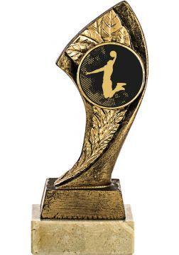 trofeo portadisco resina alegorico