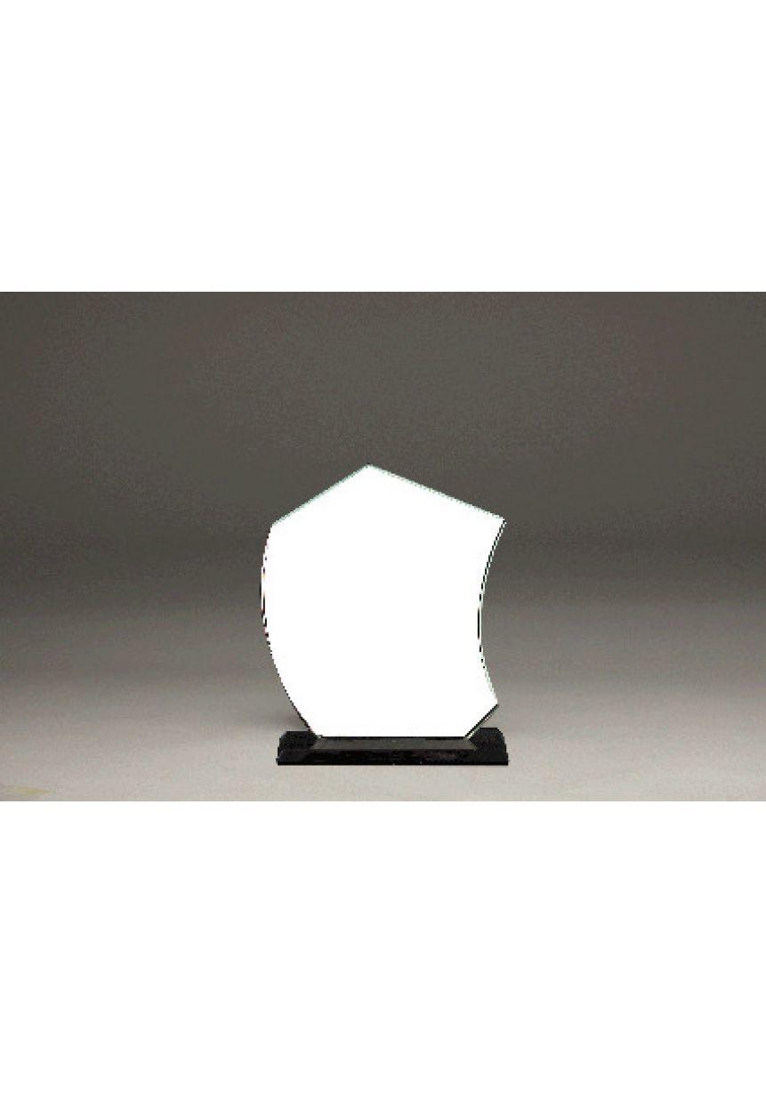 Trofeo di cristallo candela di colore