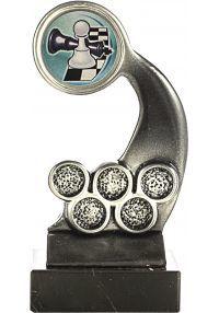 Trofeo Portadisco Resina Alegórico Plata-1