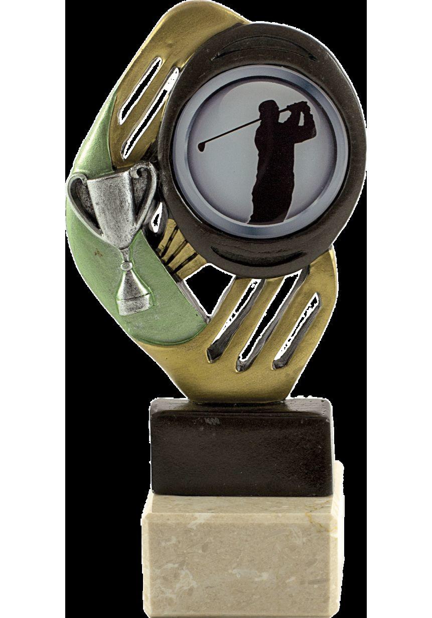 Trofeo Portadisco Resina Detalle Copa