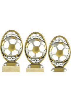 Trofeo Dorado Óvalo Fútbol Thumb