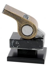 Resin Whistle Referee Trophy