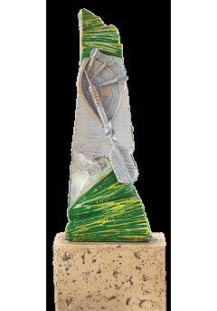 trofeo de resina para torneo de dardos 11