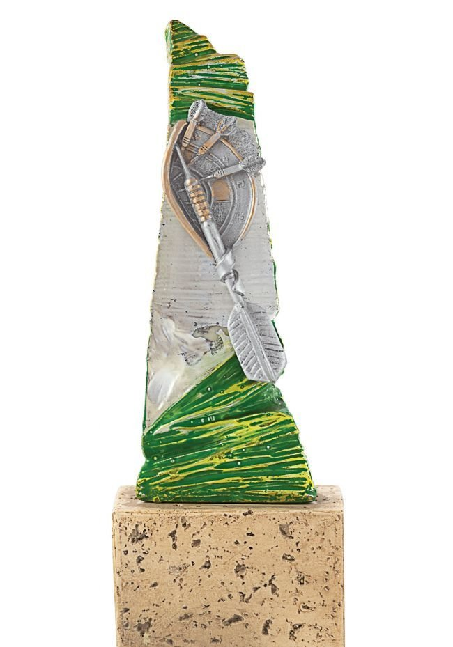 Trofeo de Resina para torneo de Dardos