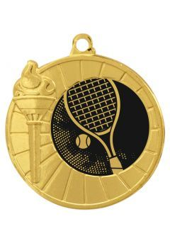 Medalla Portadisco Antorcha 40 mm Thumb