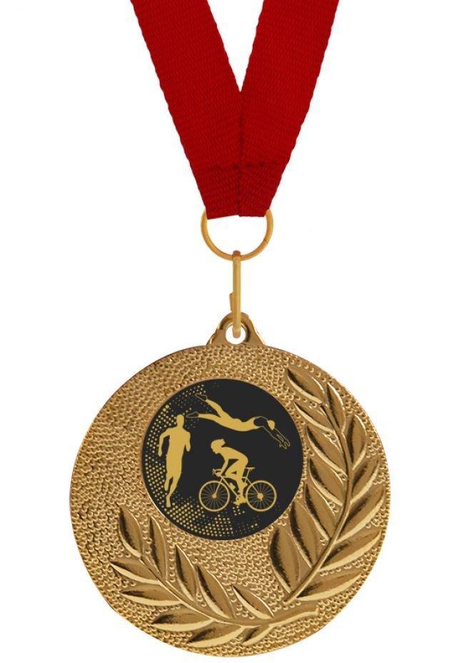Medalla Completa para Triatlón