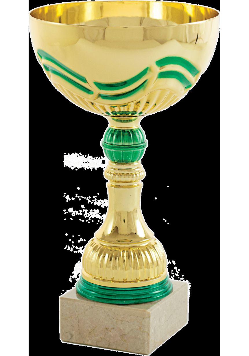 Trofeo copa mini balón verde