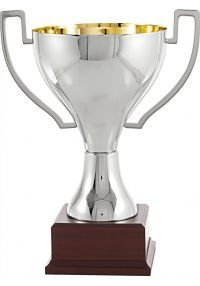 Trofeo Copa Lisa Asas Metal