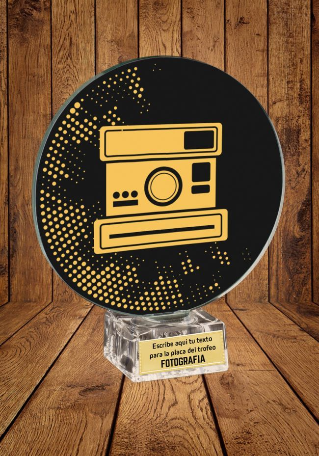Trofeo de cristal Fotografía