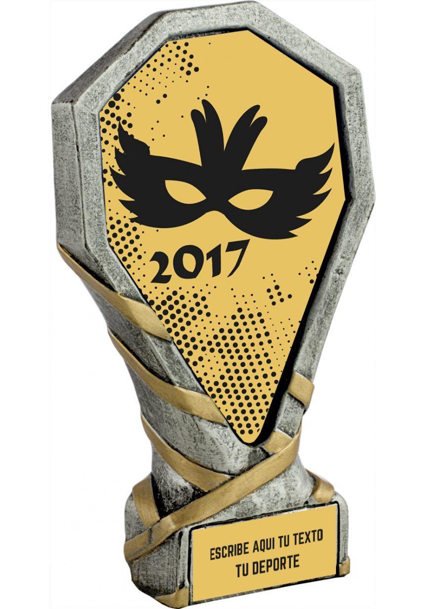 Trofeo de Disfraces para Carnavales