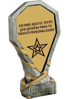 Trofeo Personalizado de resina