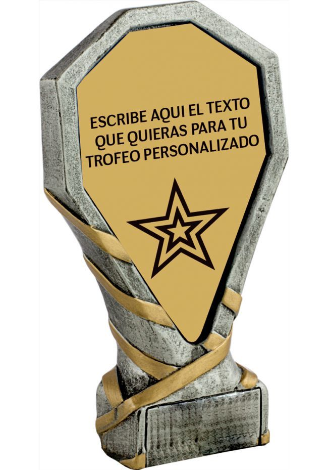 Resin Personalized Trophy