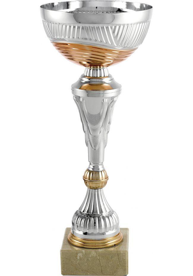 Trofeo lamas plata y cobre