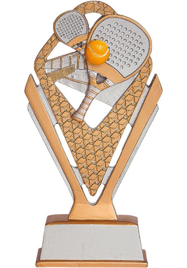 Trofeo de Padel en resina