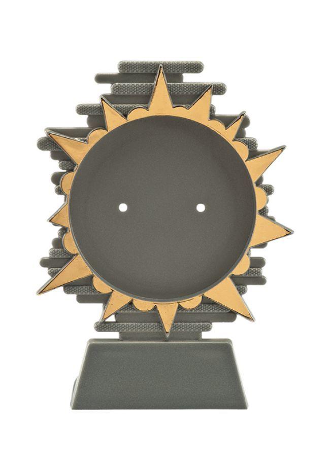 Trofeo con soporte para disco deportivo
