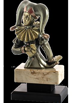 figura resina arlequin 31