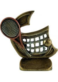 Trofeo resina tenis