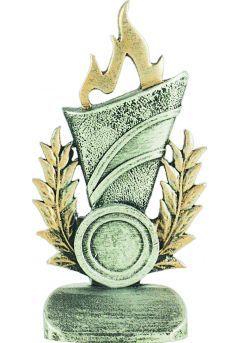 Trofeo premio antorcha alegórico