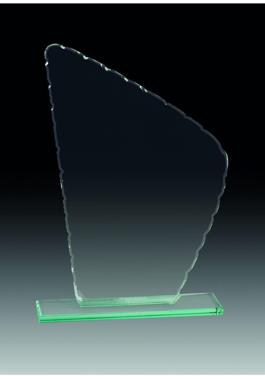 Trofeo de cristal Pico Irregular