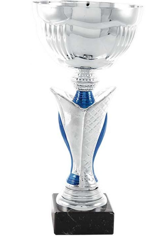 Trofeo de copa en forma de flor