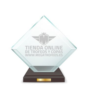 Crystal Trophies - LASER