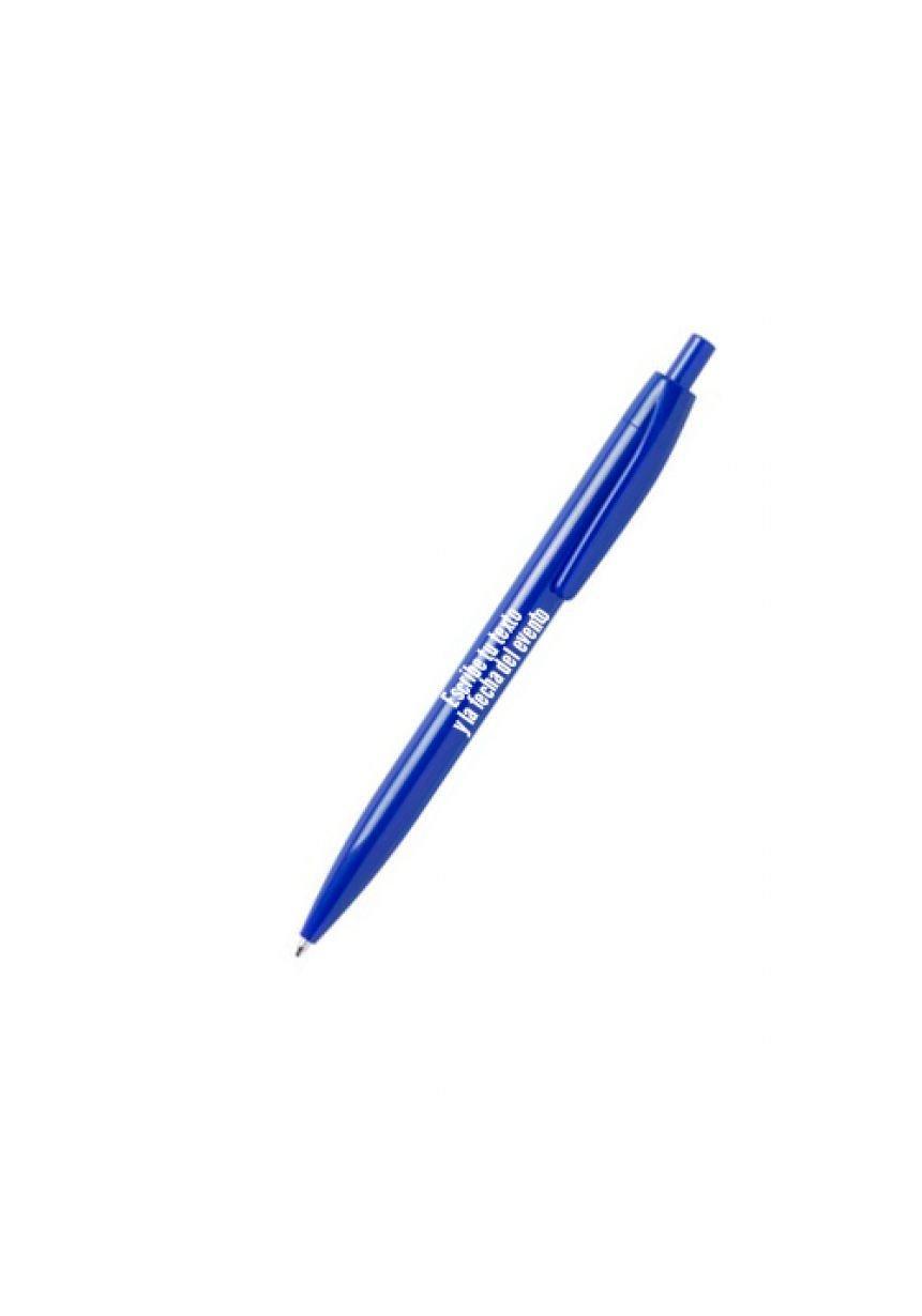 Personalisierter farbiger Kugelschreiber