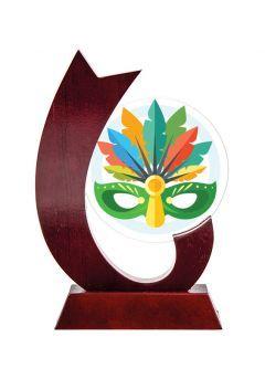 Trofeo con circulo de cristal Thumb
