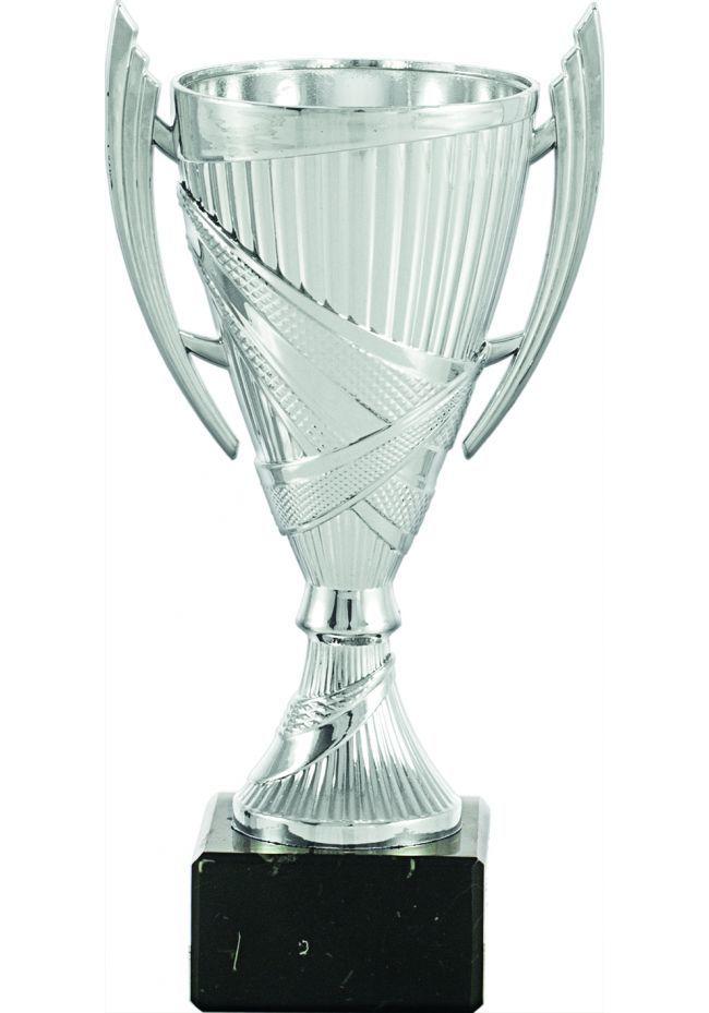 Trophy cup cone color silver handles