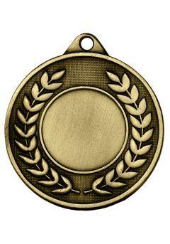 Medalla portadisco labrada laurel Thumb