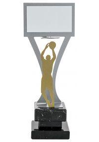 Trofeo jugador baloncesto Metal