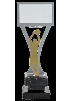 trofeo jugador baloncesto metal 14
