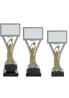 Trofeo jugador baloncesto Metal Thumb