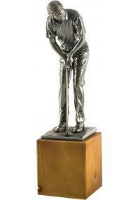 Trofeo de un Golfista realizado Resina-1