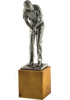 Trophäe eines Golfer gemacht Resin Thumb