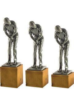 Trofeo de un Golfista realizado Resina Thumb