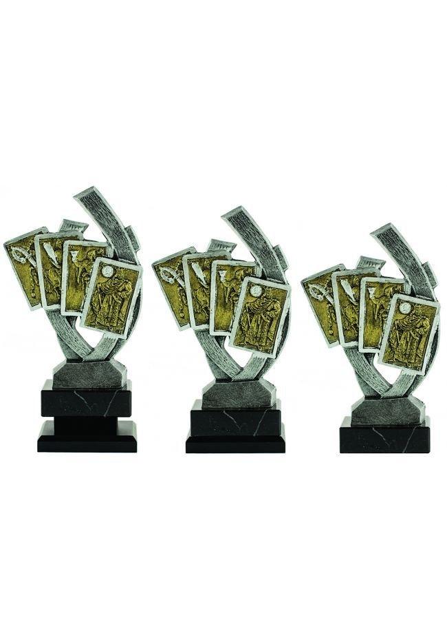 Trofeo figura 4 Cartas