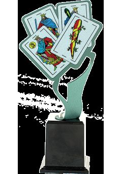 Trofeo Metal Cartas