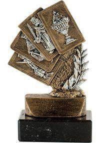 Trophée Mini figurine Laurel 4 Cartes