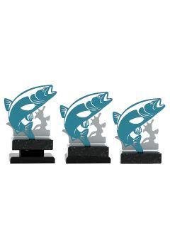 Trofeo de pez metal Thumb