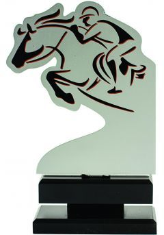 Trofeo metal jinete Thumb