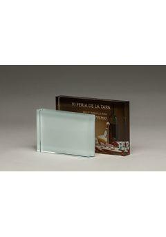trofeo taco rectangular sublimacion 12