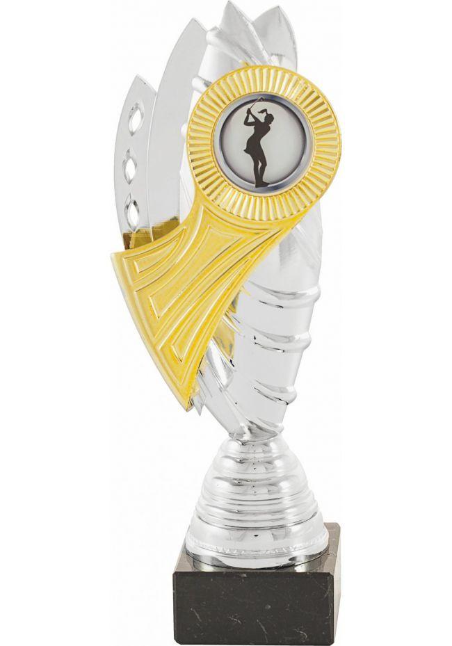 Trofeo Portadiscos Bicolor