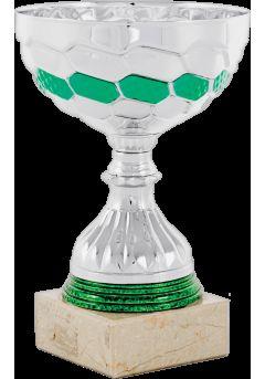 trofeo cinta plata y verde 11