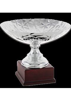 trofeo copa corte geometrico laurel bronce 10