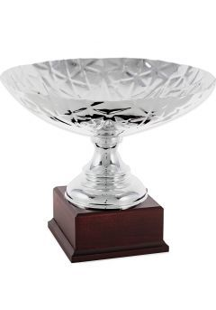 Trofeo copa ensaladera corte geométrico