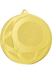 Medalla Óvalos Portadisco 70 mm  -2