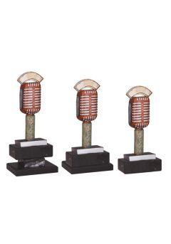 Trofeo microfono antiguo Thumb
