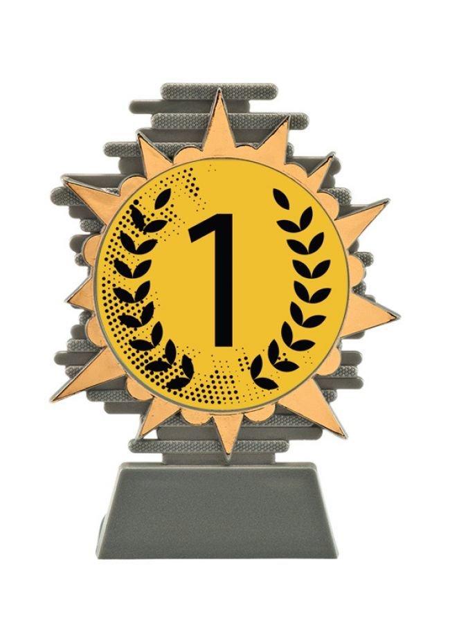Trofeo para niños con posiciones