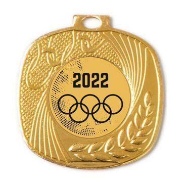 Medalla cuadrada para cualquier deporte-3