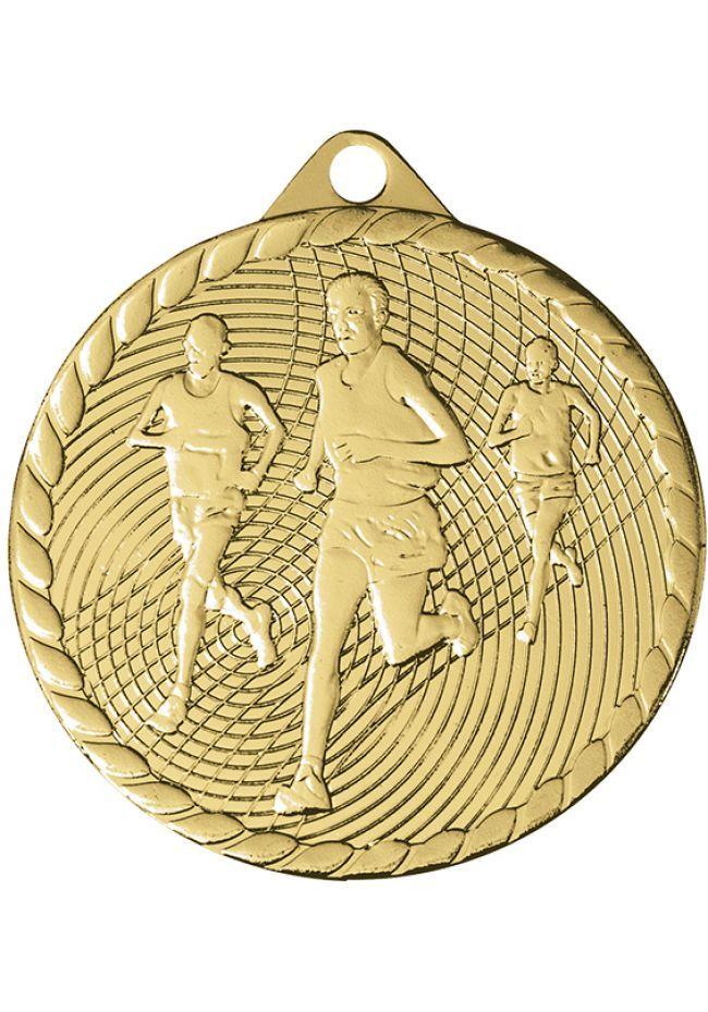 Medalla de cross con relieve